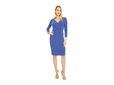 LAUREN Ralph Lauren Cleora Long Sleeve Day Dress Women