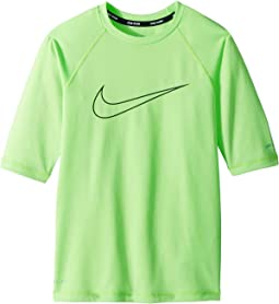 Heather Swoosh Half Sleeve Hydroguard (Big Kids)