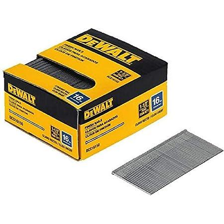 DEWALT DNBA1650S DNBA1650SZ 16 Gauge Stainless Steel 20° Finish Nails 50mm Pack