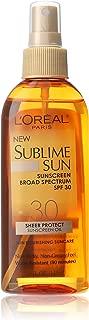 Best l'oreal sublime sun spf 30 oil Reviews