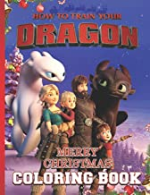 How to train your Dragon Coloring Book: Perfect Christmas Gift For Kids And Adults with High Quality Illustrations