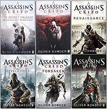 Oliver Bowden Assassins Creed 6 Books Collection Set (Black Flag, Forsaken, Revelations, The Secret Crusade, Brotherhood, ...
