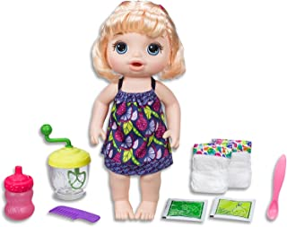 Baby Alive Dolls - Sweet Spoonfuls - Blonde Baby Girl - Interactive Kids Toys - Ages 3+