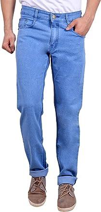 STUDIO NEXX Men's Light Blue Regular fit Jeans