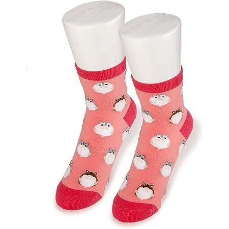 ハムスター レディース ソックス Hamster Socks ペットとアニマルソックス Pet & Animal Socks SD-1008 ハムコ ペットラバーズレッド