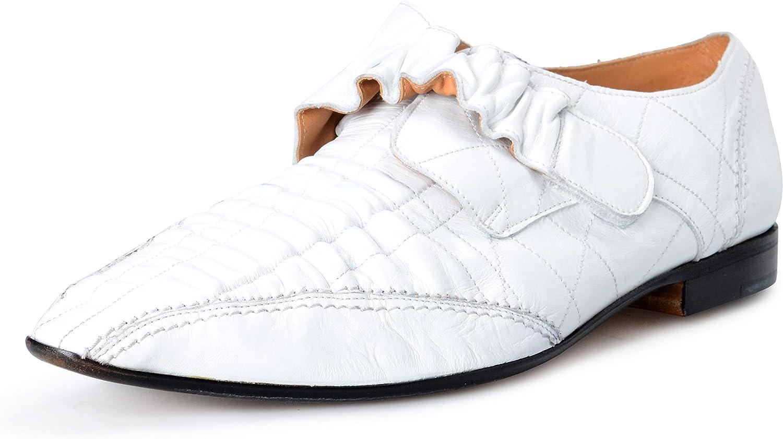 Maison Margiela Men's Black Leather Loafers Slip On Shoes US