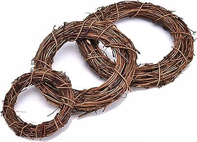 VOSAREA 1pc Vine Branch Decorative Wooden Grapevine Wreath Twig for Garden Door Decor House Craft