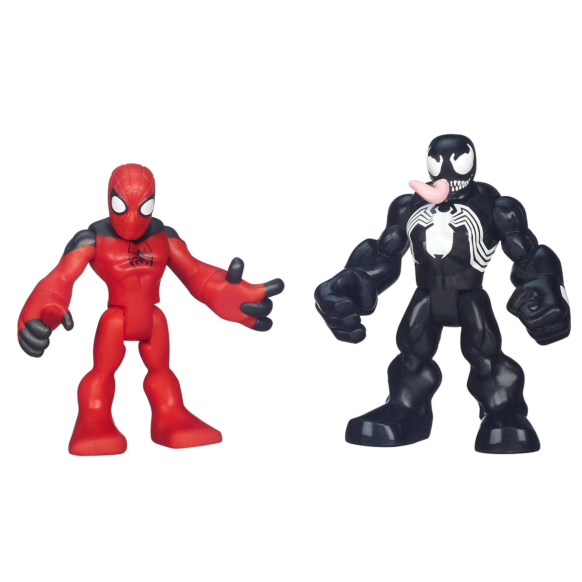 Playskool Heroes Spiderman Heroes 2 Pack - Scarlet Spider- Man ...