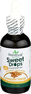 SweetLeaf Sweet Drops Liquid Stevia Sweetener, English Toffee, 2 Ounce
