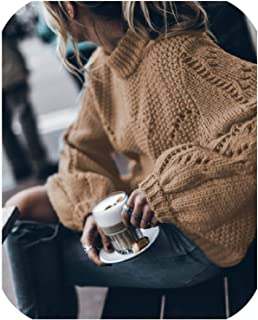 FAT BIG CAT Autumn Long Sleeve Hollow Pullover Womens Winter Knitted Women Knit Sweaters Pullover Casual Loose Female