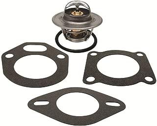 GLM 143°F Thermostat Kit for Volvo Penta V6 & V8 AQ200 AQ225 AQ231 AQ260 AQ271 Replaces 876305 18-3662 Please See Product Description for Exact Applications