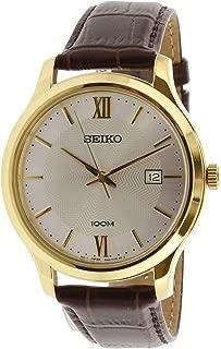 Neo Classic Quartz Men's Leather Watch SUR298P1