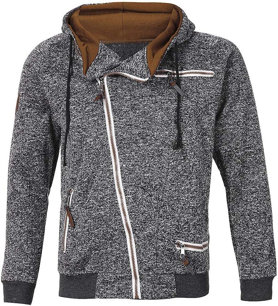 Maryia Men's Big & Tall Fashion Hoodies Sweatshirts Autumn Long Sleeve Warm Activewear Outwear Tops Blouse