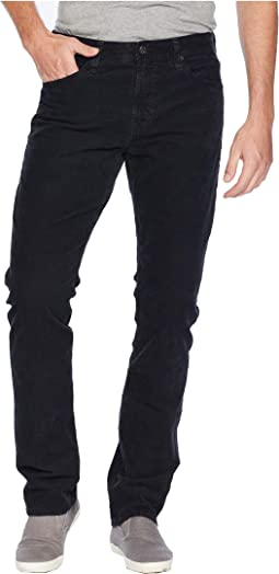 Everett Slim Straight Leg Jeans in Sulfur Black Ash