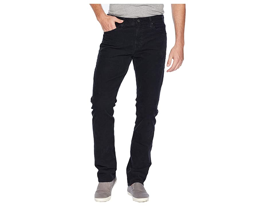 AG Adriano Goldschmied Everett Slim Straight Leg Jeans in Sulfur Black Ash (Sulfur Black Ash) Men's Jeans