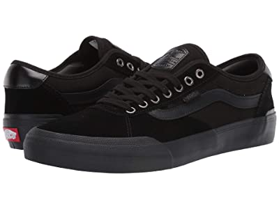 Vans Chima Pro 2 ((Suede) Blackout) Skate Shoes