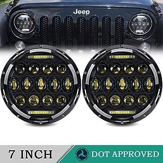 LED Headlight for Jeep Wrangler AUSI 7