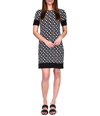 MICHAEL Michael Kors Petite Sixties Border Dress