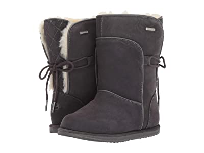 EMU Australia Kids Airlie (Toddler/Little Kid/Big Kid) (Charcoal) Girls Shoes