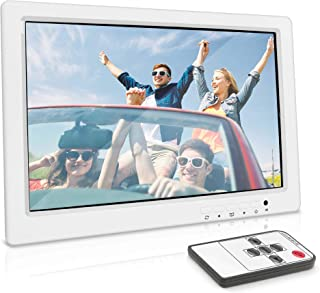 Inwall Video Monitor Display Screen - 15.4 Inch Full HD 1080p Universal Widescreen LCD Flush Wall Mount HDMI RCA Monitor w...