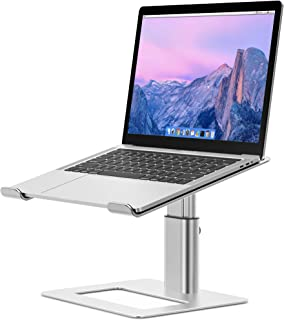 Besign LSX3 Aluminum Laptop Stand, Ergonomic Adjustable Notebook Stand, Riser Holder Computer Stand Compatible with MacBoo...