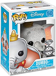 Funko POP! Disney #50 Dumbo (Glitter) - Diamond Collection - New, Mint Condition