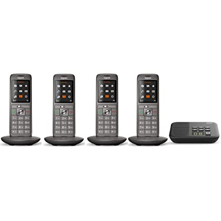 Gigaset Cl660a Quattro Analoges Telefon Set Inkl 4 Elektronik