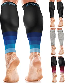 Calf Sleeves for Men & Women (20-30 mmHg) - Calf Support - Compression Calf Guards - Leg Sleeves for Torn Muscle - Shin Sp...