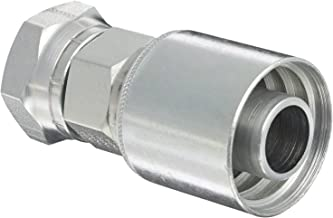 Eaton Weatherhead Coll-O-Crimp 16U-616 Female Swivel Fitting, SAE 37-Degree, Low Carbon Steel, 1