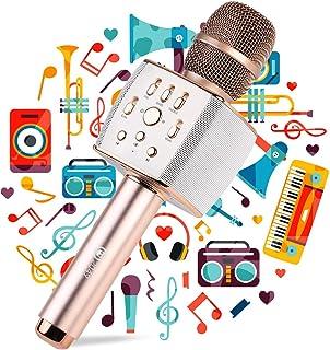 2049 X37 12w Cardioid Dynamic Wireless Microphone, Handheld Wireless Bluetooth Karaoke Systems Karaoke Microphone for Home...