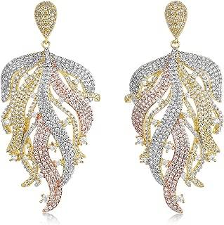 Handmade Jewelry Manufacturer 1 Pair Amethyst Wonder Sapphire /& CZ Dangle Earring Gold Vermeil Over 925 Sterling Silver Earring Jaipur Rajasthan India