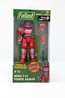 Just Toys LLC Fallout Mega Merge Series 2 - T-51 Nuka Cola Power Armor