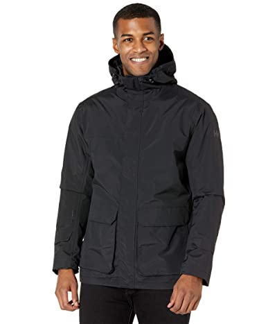 Helly Hansen Utility Insulated Rain Jacket (Black) Men