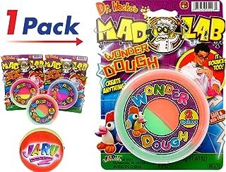 JA-RU Mad Lab Wonder Dough and Bouncy Ball Bundle Bouncing Colorful Super Mega Soft Item #5427-1