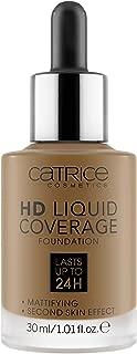 Catrice   HD Liquid Coverage Foundation   090 Espresso Beige   High & Natural Coverage   Vegan & Cruelty Free