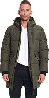 Alpine North Mens Vegan Down Winter Puffer Coat