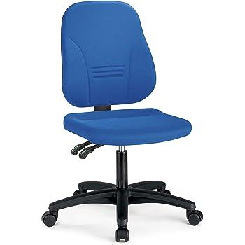 Bürostuhl in blau