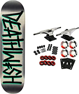 Deathwish Skateboard Complete Deathspray Mint 8.5