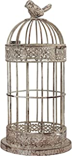 Stonebriar Jaula para pájaros de Alambre Envejecido pequeño de