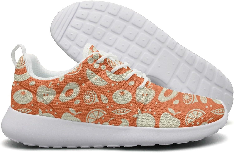 Hoohle Sports Fruits and Vegetables in Season Women Roshe One Flex Mesh Mens Lightweight Running shoes