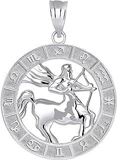 CaliRoseJewelry Sterling Silver Zodiac Pendant