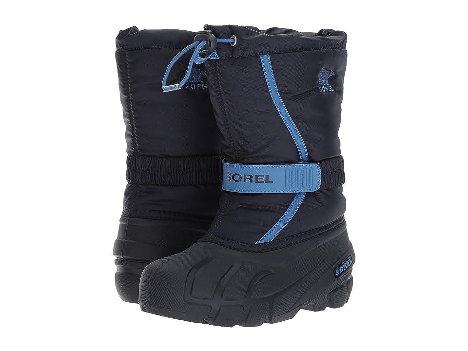 SOREL Kids Flurry (Toddler/Little Kid/Big Kid) (Collegiate Navy) Boys Shoes