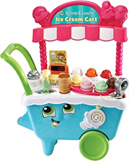 Leapfrog 600703 (LF)SCOOP & LEARN ICE CREAM CART , Piece of 1
