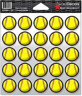 Best softball helmet award stickers Reviews