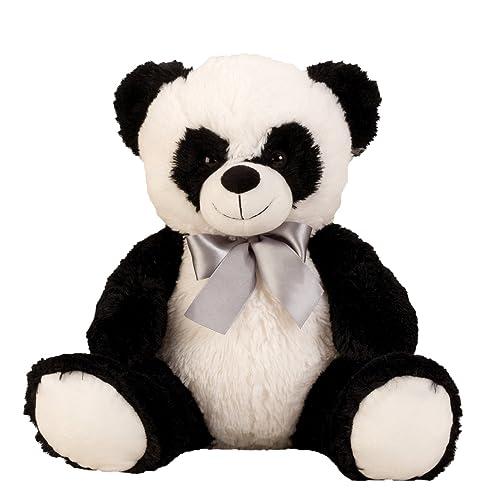 Panda ours cuddly 50 cm en peluche animal panda veloutée - pour l'amour