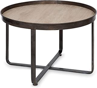 Kate and Laurel 214979 Zabel Wood and Metal Coffee Table, 28