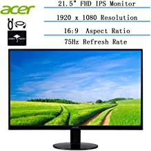 """2020 Newest Acer 21.5"""" FHD LCD Ultra-Thin Zero Frame Monitor for Business and Student, 16: 9,..."""