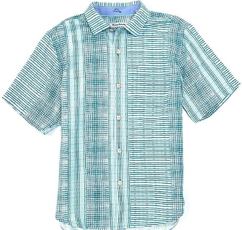 Tommy Bahama Bay Street Shirt 評判 Silk 毎日激安特売で 営業中です Blues Camp