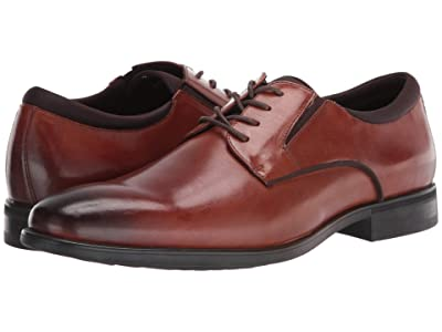 Kenneth Cole Reaction Edge Flex Lace-Up PT (Cognac) Men