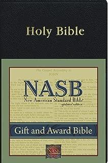 New American Standard Gift & Award Bible; Black Imitation Leather